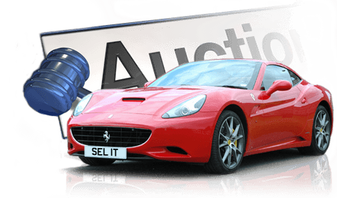 Regtransfers numberplate auction