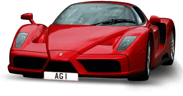 Finance available on private number plates