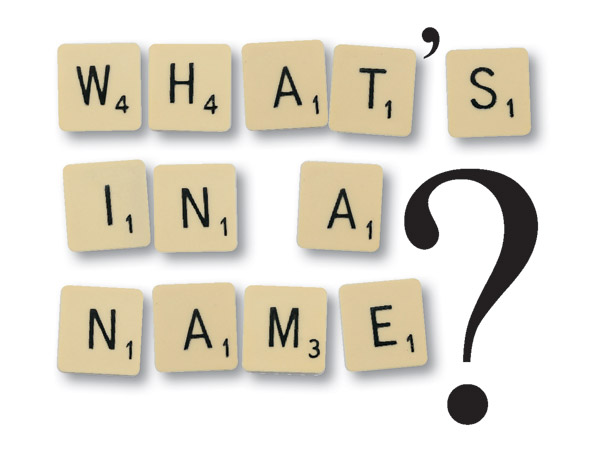 name plates - what's in a name?'