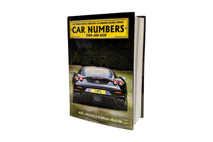 Photo of number plate book