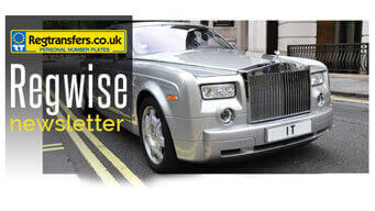 Regtransfers Numberplates Newsletter