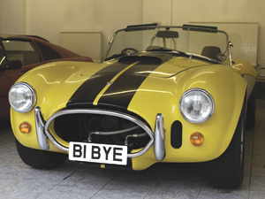AC Cobra with B1 BYE