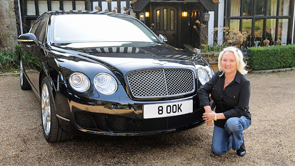 Best Buy Private Auction >> Celebrity Number Plates: Martina Cole - Regtransfers.co.uk
