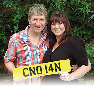 Coleen Nolan with her husband, guitarist Ray Fensome