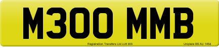 M300 MMB private number plate